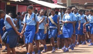 Ghanian Secondary School Girls Caught having Gang S*X with Nigerians
