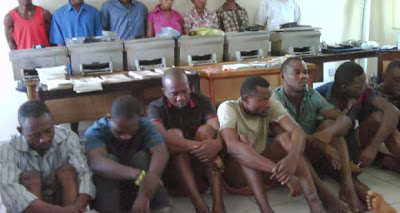 See Photo of Pastor & His Children Arrested For Fake Currency